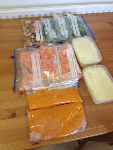Frugal Food Prepping – Freezing Vegetables