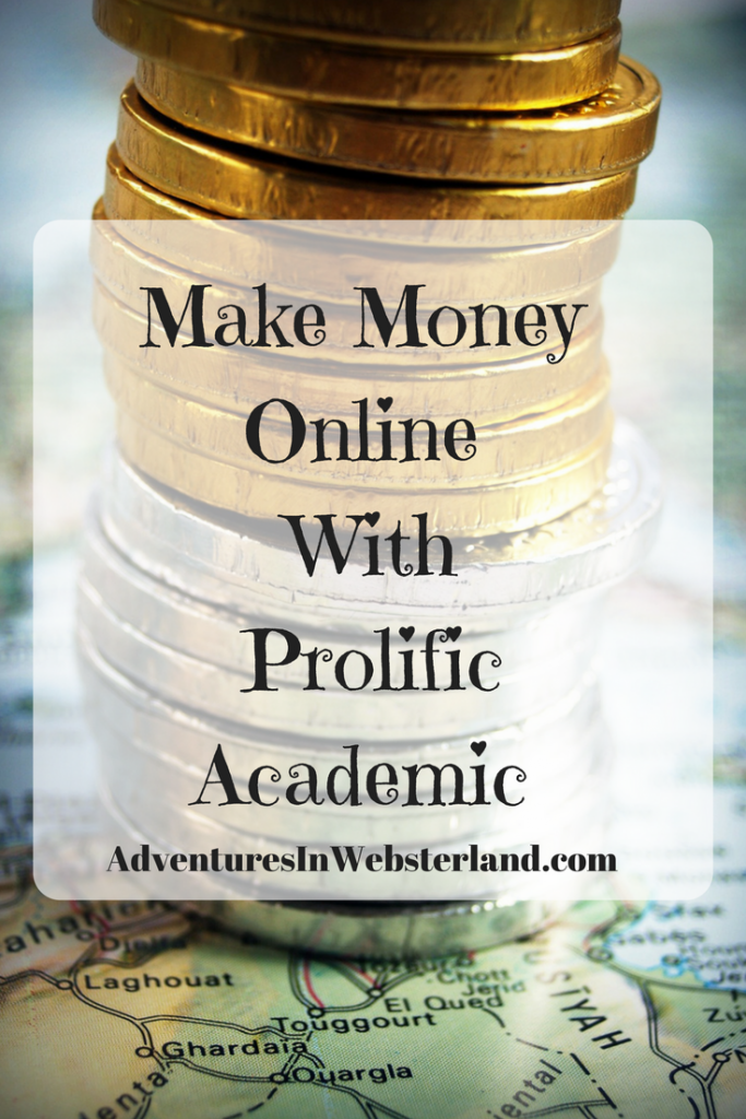 Make Money Online With Prolific Academic