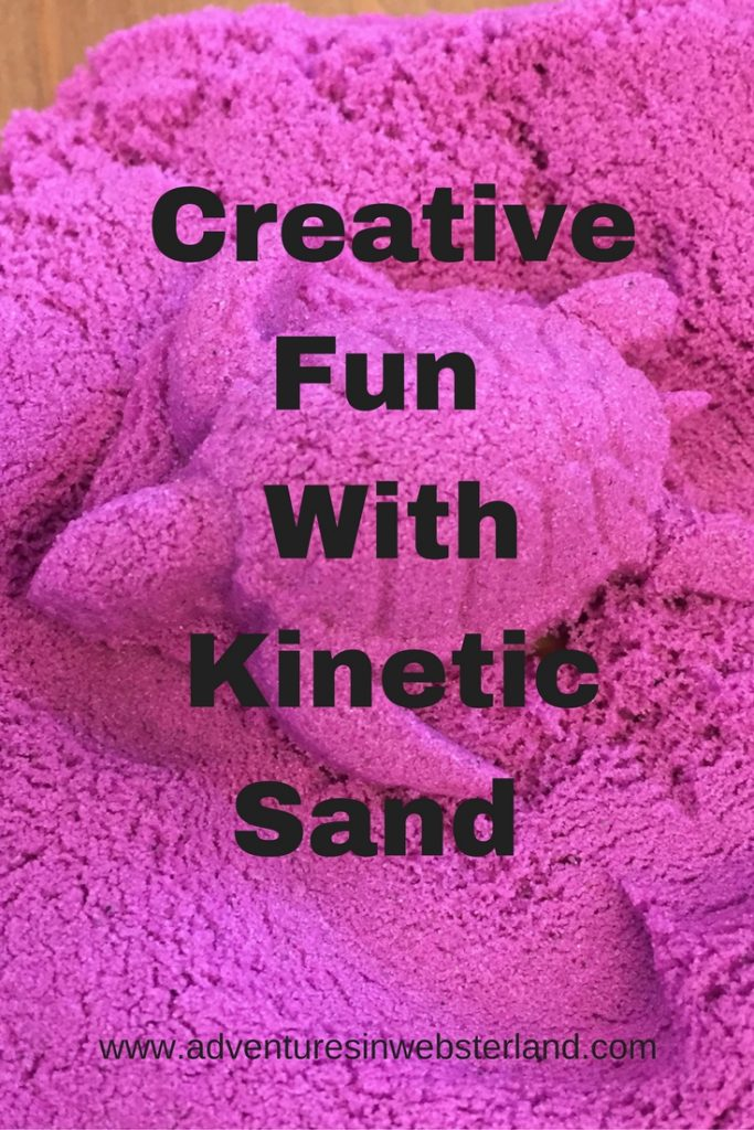 Creative Fun With Kinetic Sand