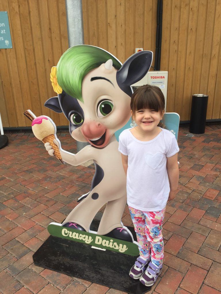 A Family Day Out At The Ice Cream Farm