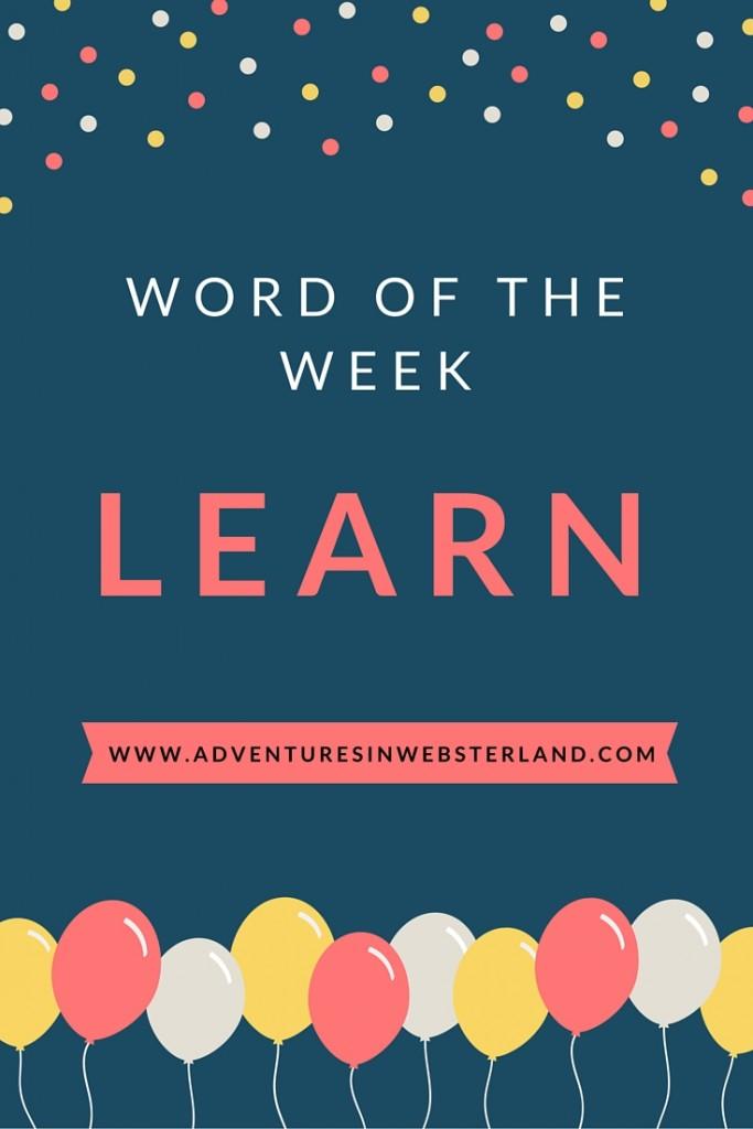 Word of The Week (3)