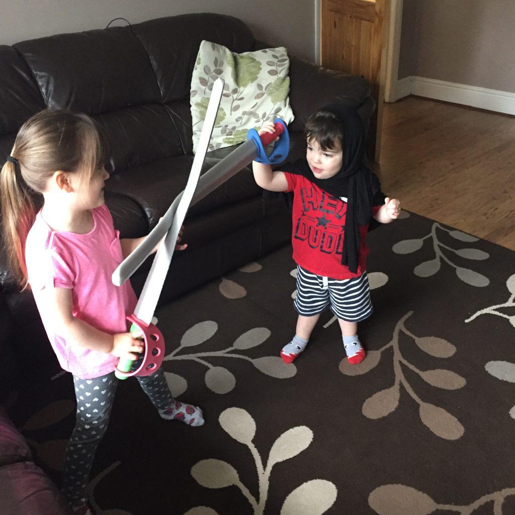 Professional Child Wrangler