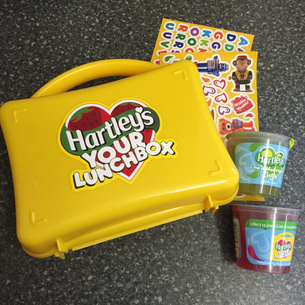 Lunchbox Inspiration with the #HartleysYourLunchbox Challenge