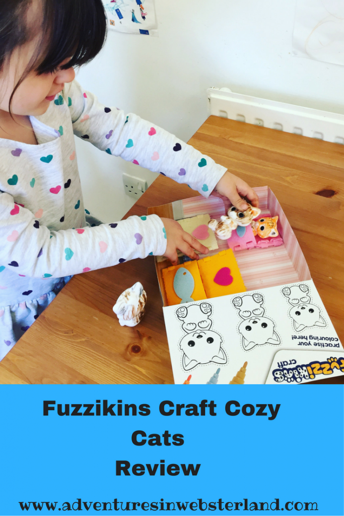Interplay Fuzzikins Craft Cozy Cats Review