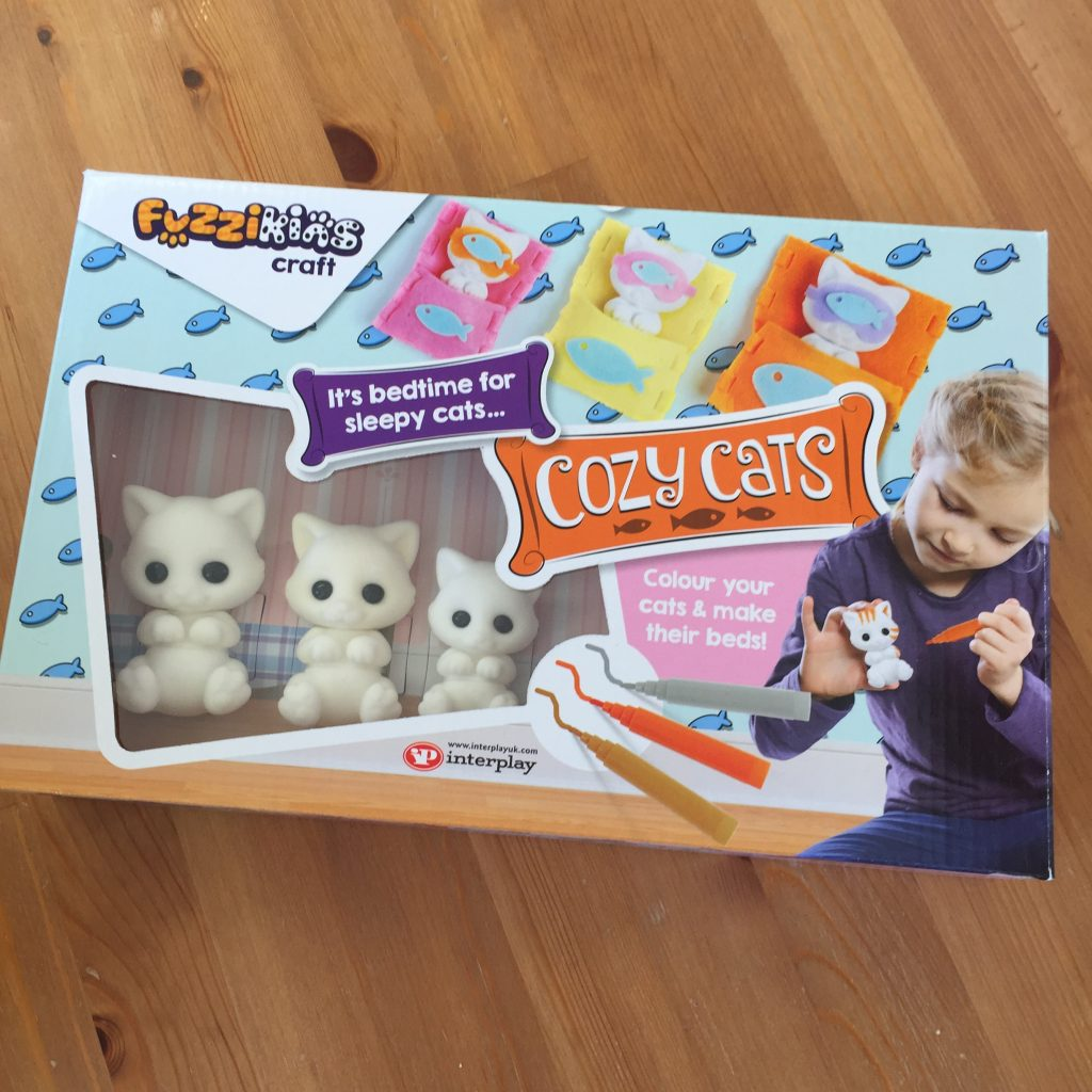 Fuzzikins Craft Cozy Cats Giveaway
