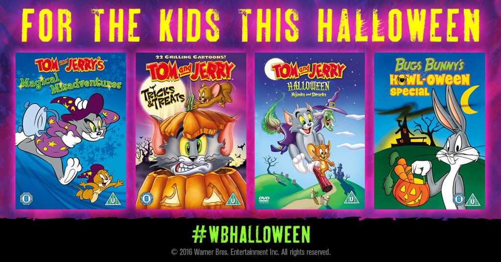 4 Films To Watch With Your Kids This Halloween