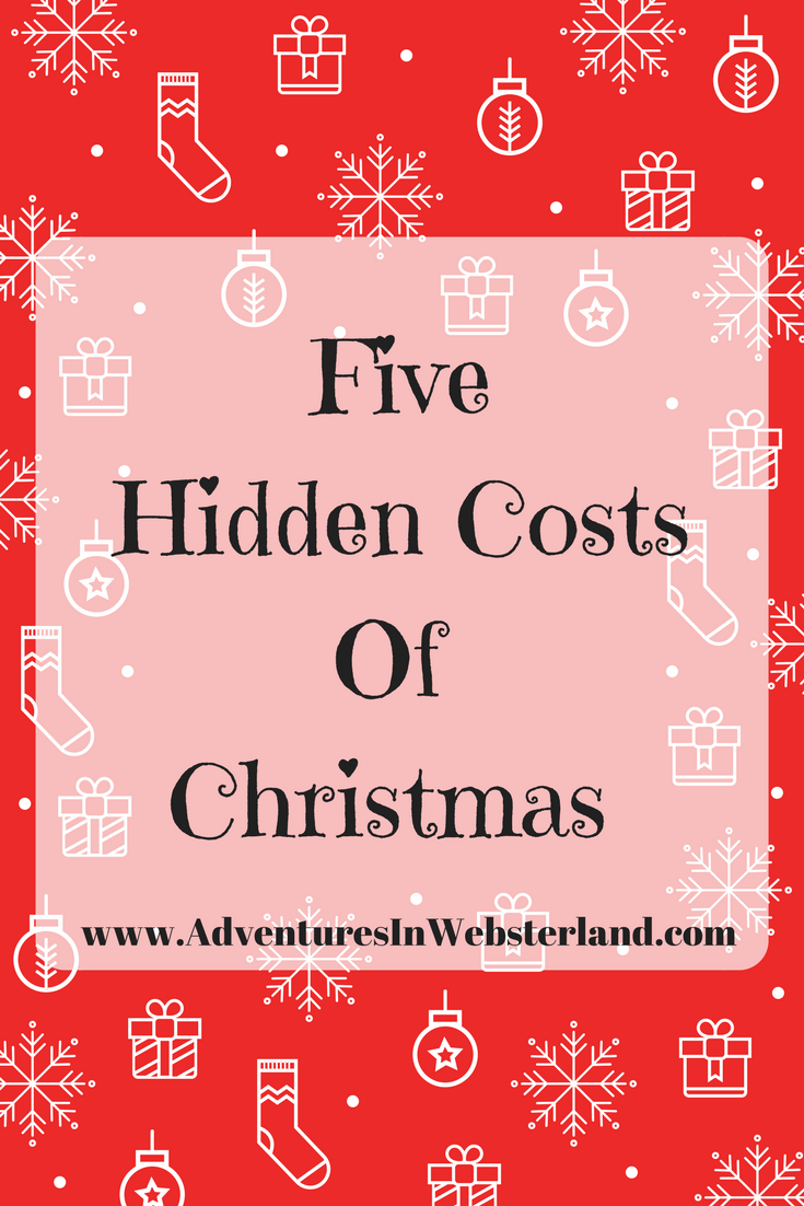 Five Hidden Costs of Christmas