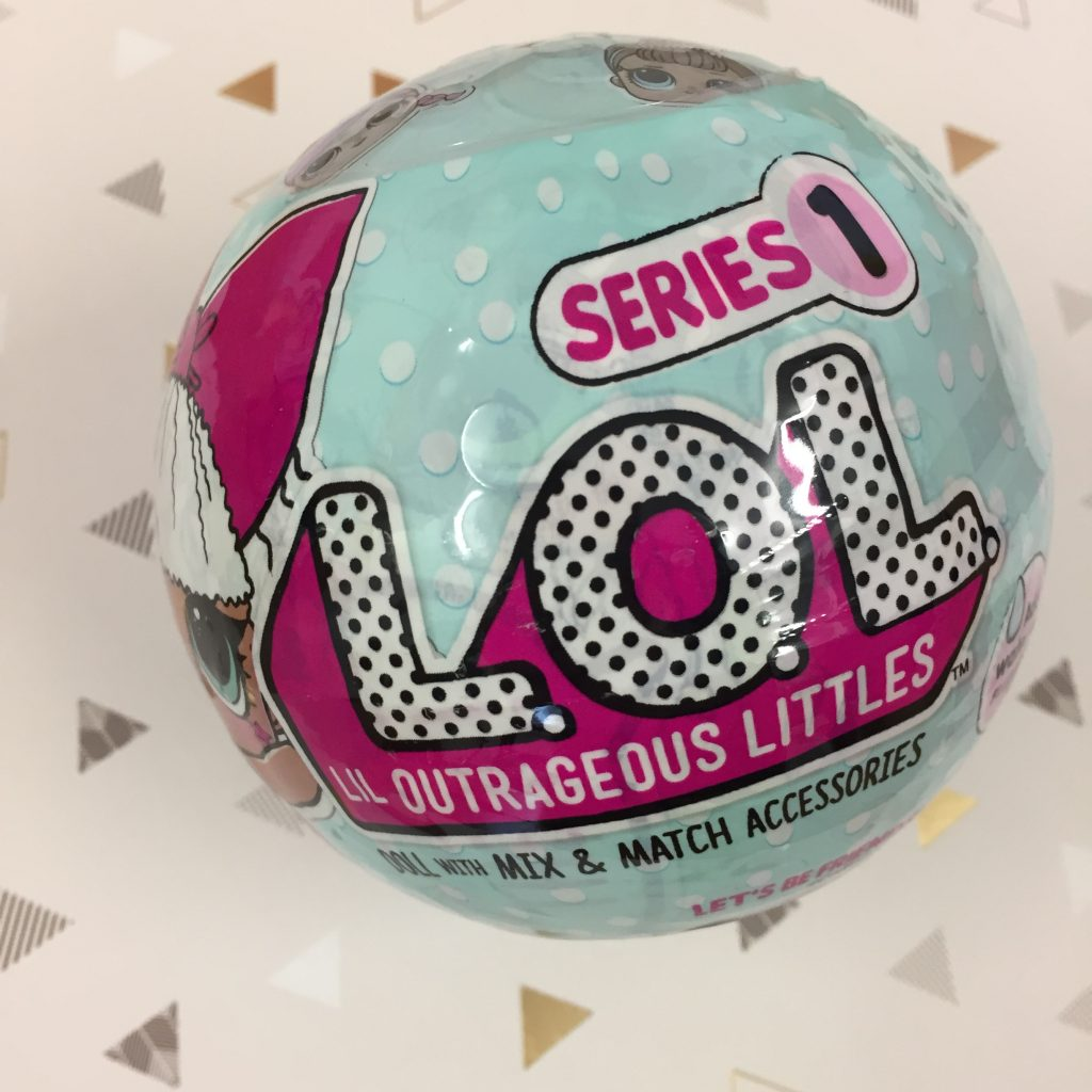 LOL Doll Series 1 surprise ball
