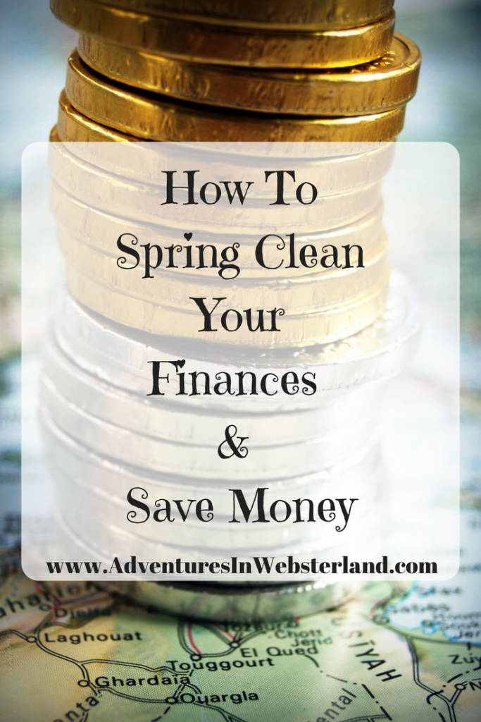 How To Spring Clean Your Finances And Save Yourself Money