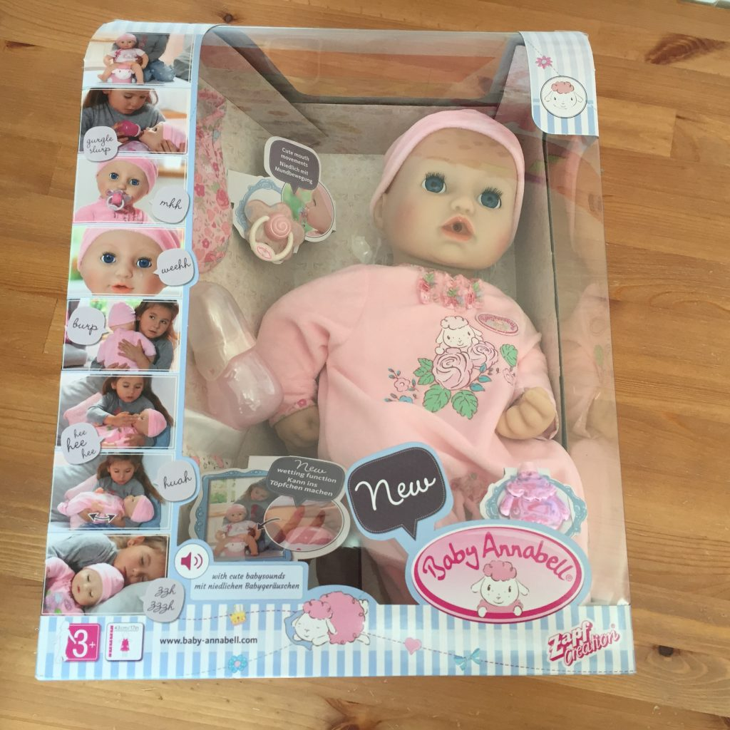 Baby Annabell Interactive Doll Review Adventures In