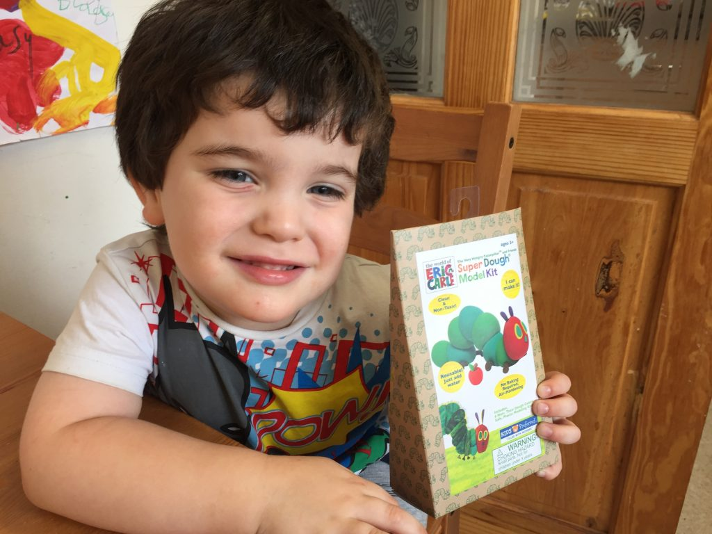 The Very Hungry Caterpillar Craft Kit Review & Giveaway