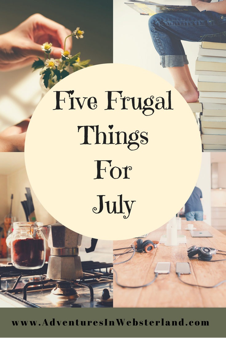 Five Frugal Things For July