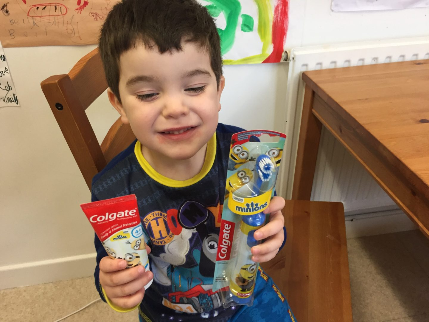Colgate minions products