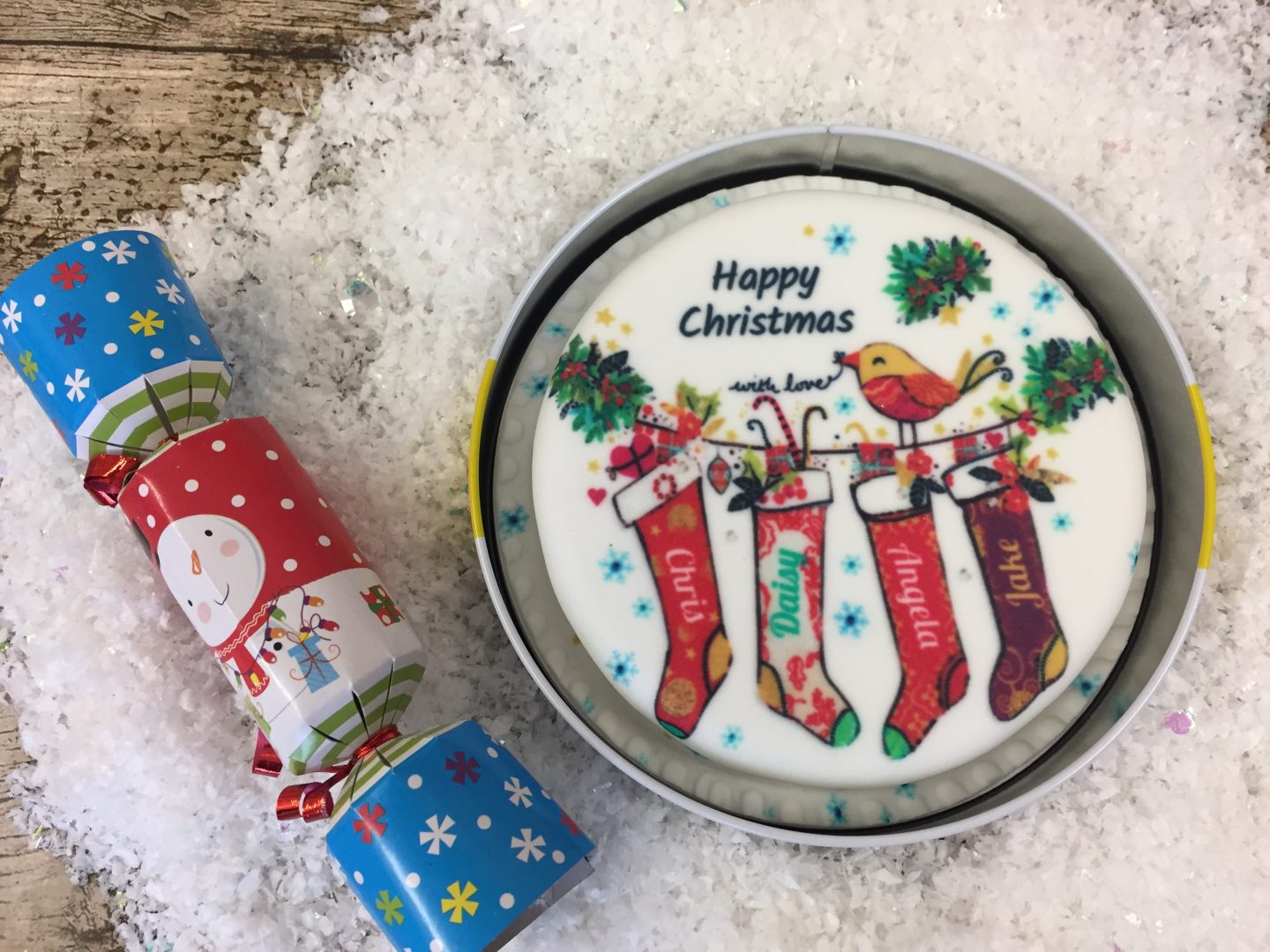 Celebrating Christmas With bakerdays Letterbox Gift Cakes [Review & Giveaway}