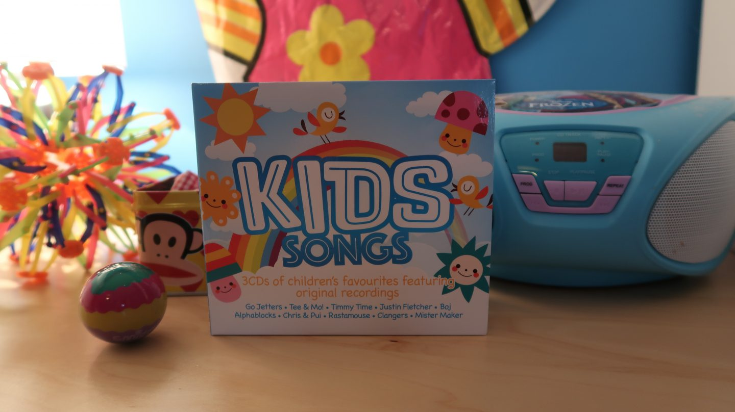 Kids Songs CD {Review & Giveaway}