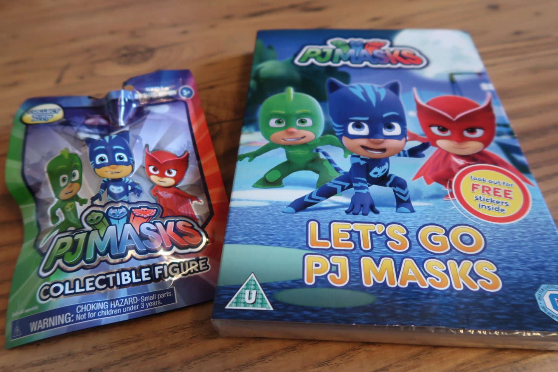 PJ Masks DVD