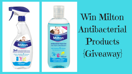 Win Milton Antibacterial Products {Giveaway}