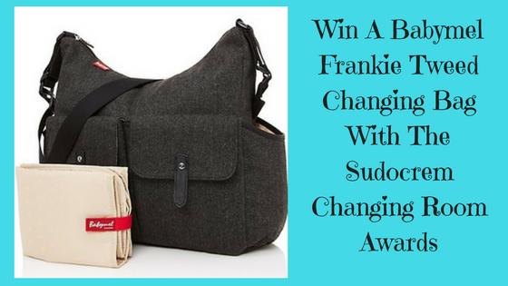 Babymel Frankie Tweed changing bag