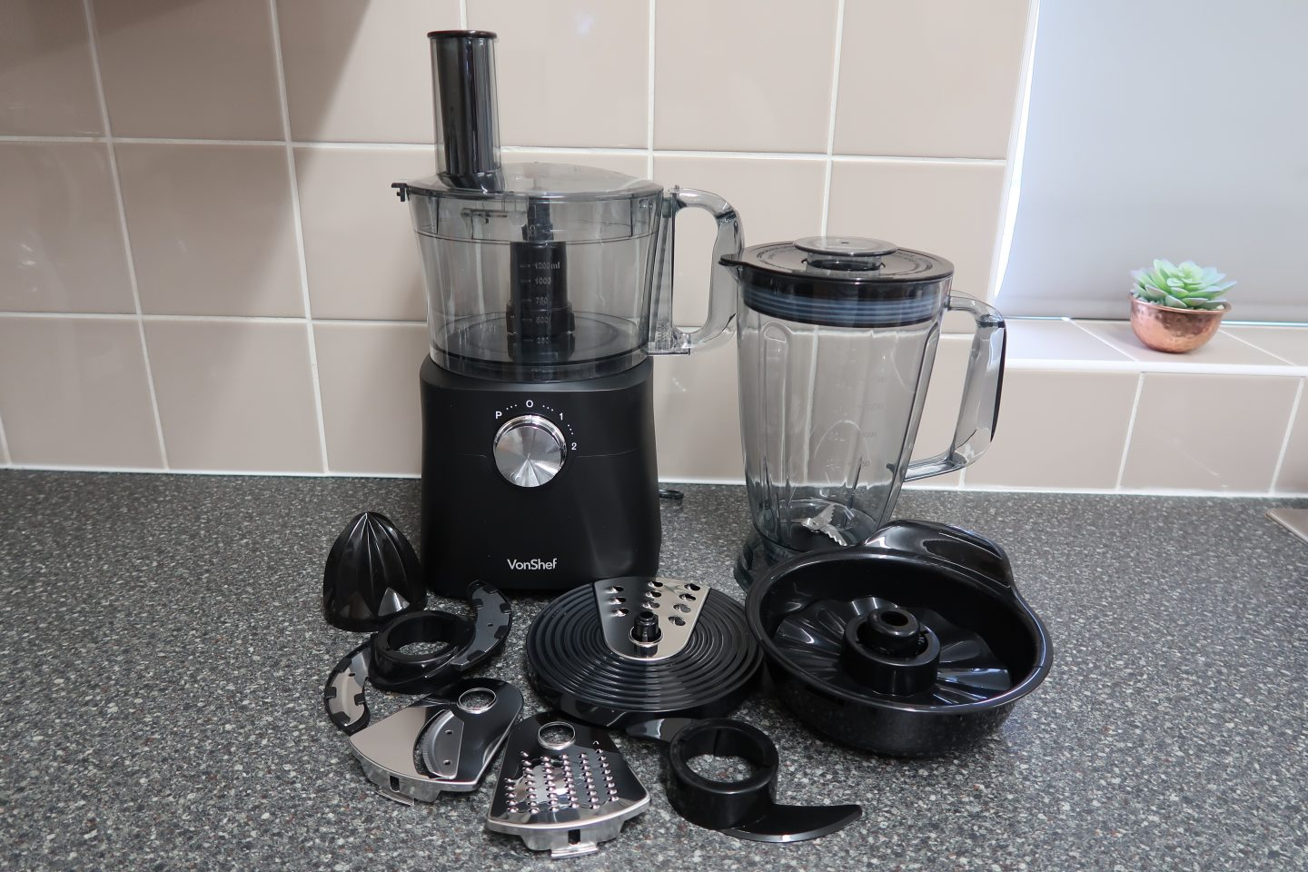 Healthy After School Snacks With The VonShef 750w Food Processor {Review & Giveaway}