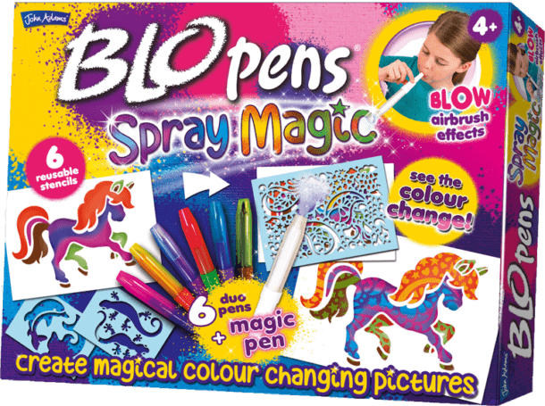 John Adams Blo Pens Spray Magic {Giveaway}