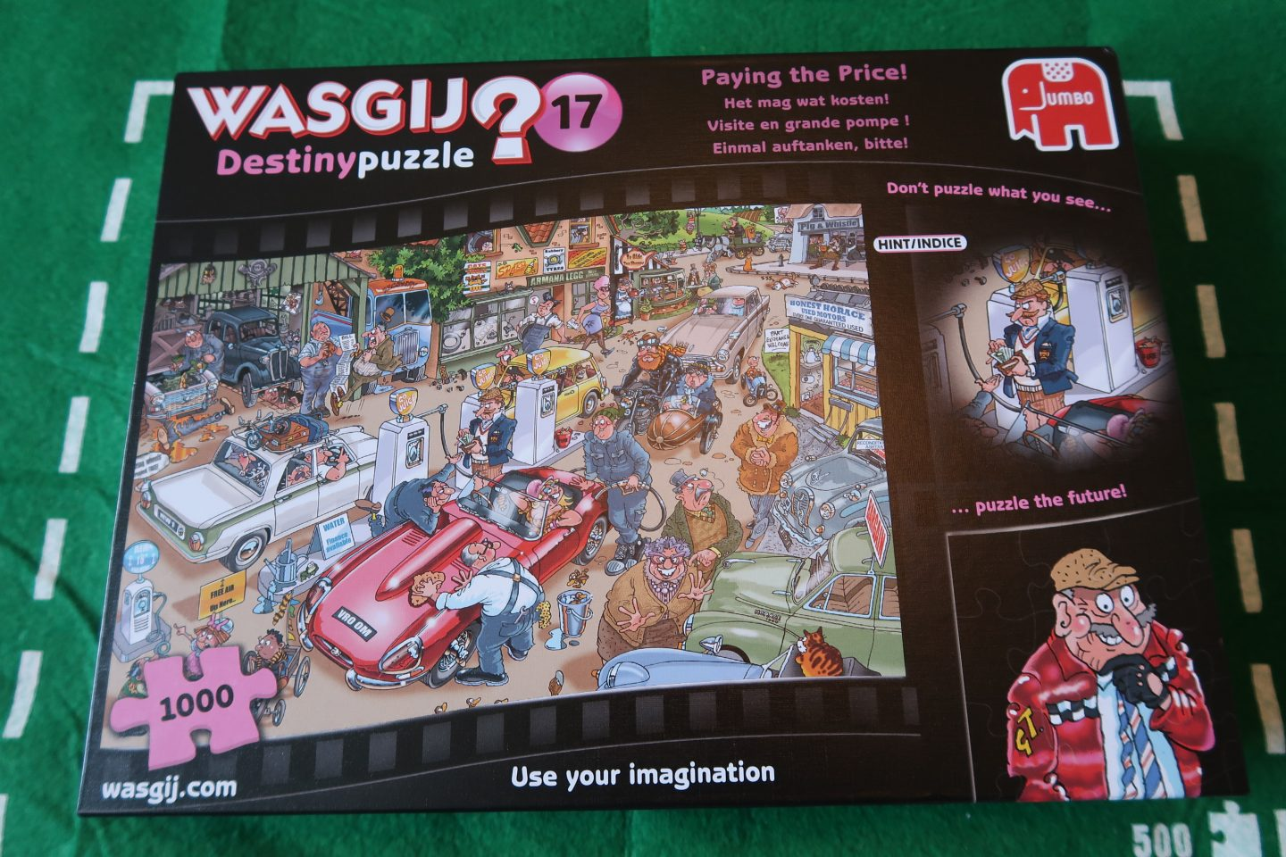 Wasgij Destiny 17 'Paying The Price' Puzzle {Review & Giveaway}