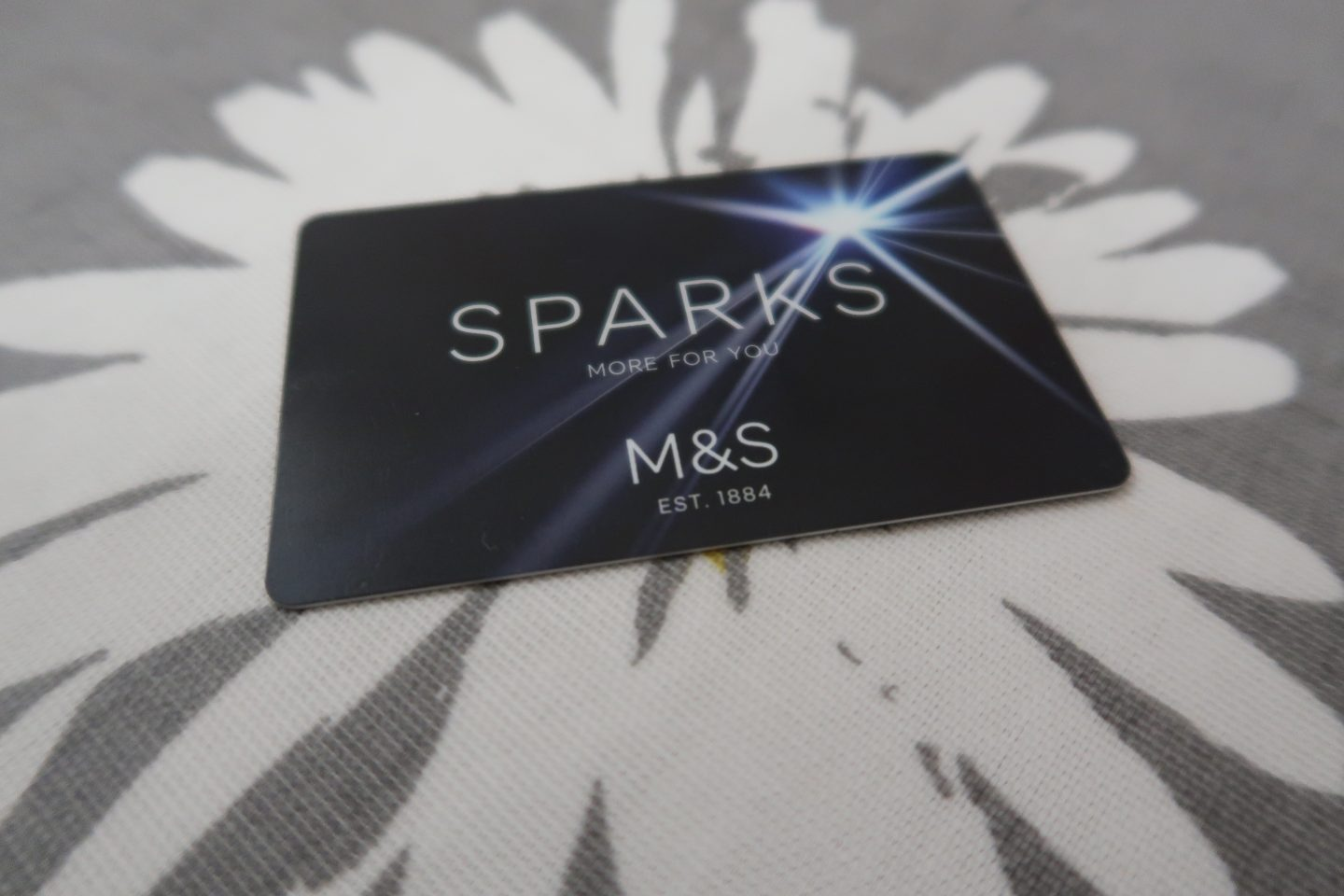 M&S Sparks loyalty card