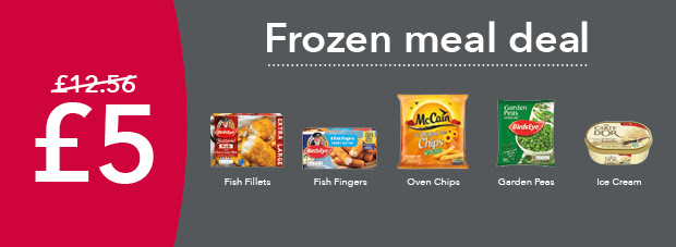 Frozen Meal Deal From The Co-op