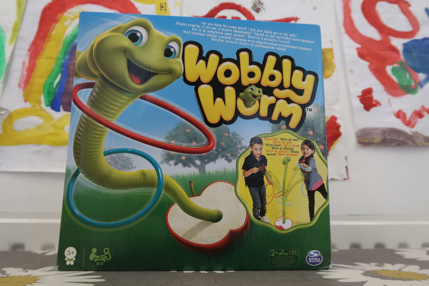 Wobbly Worm Game {Review}