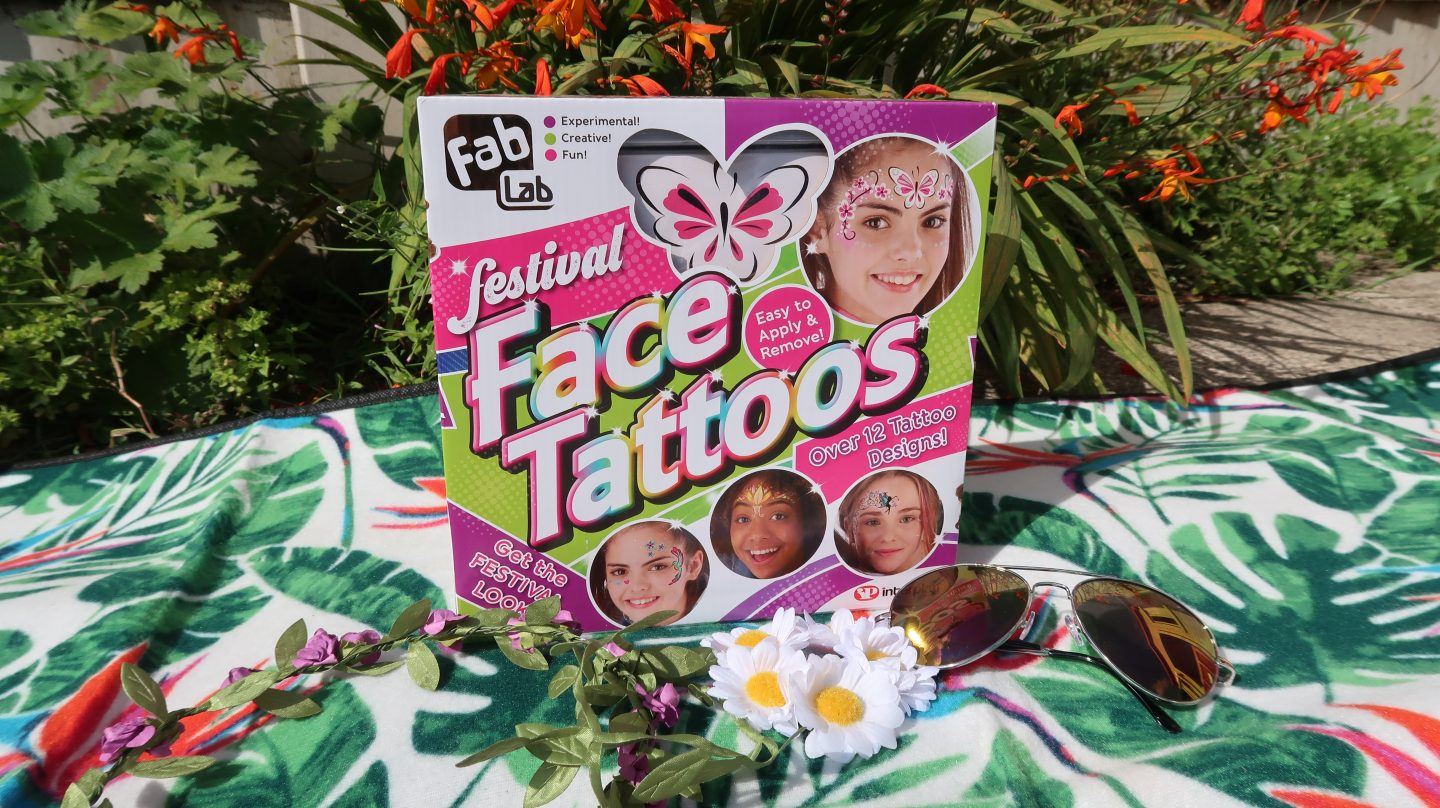 FabLab Festival Face Tattoos {Review & Giveaway}