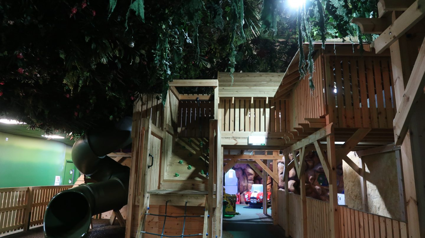 indoor play area at Tamba Park Jersey