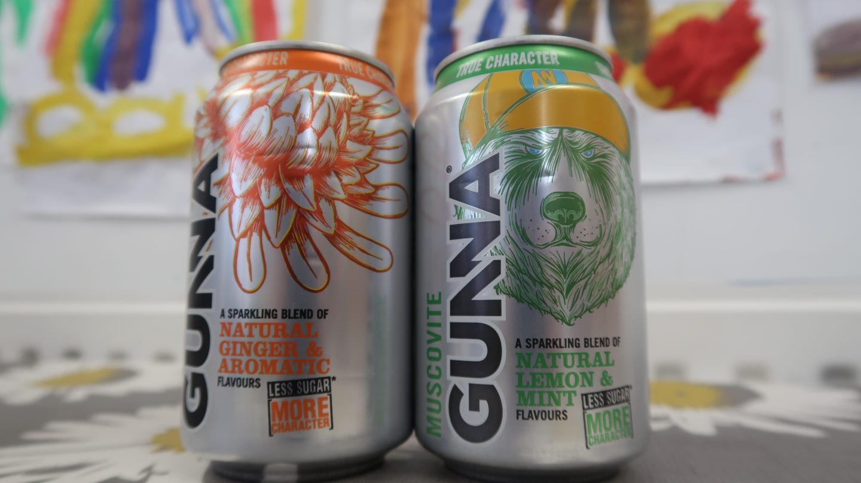 Gunna natural soft drinks