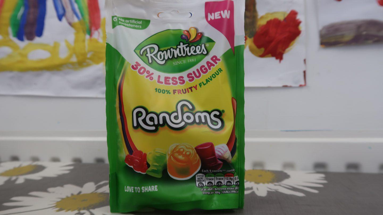 Rowntrees Randoms 30% less sugar