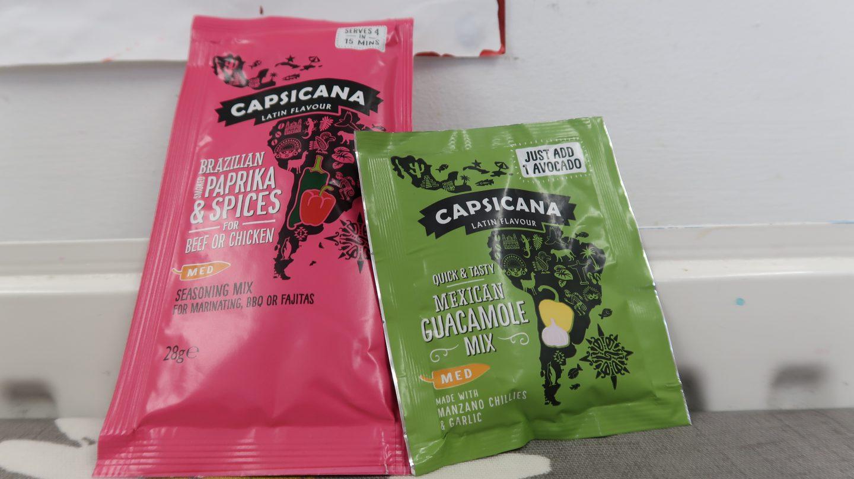Capsicana seasoning mixes