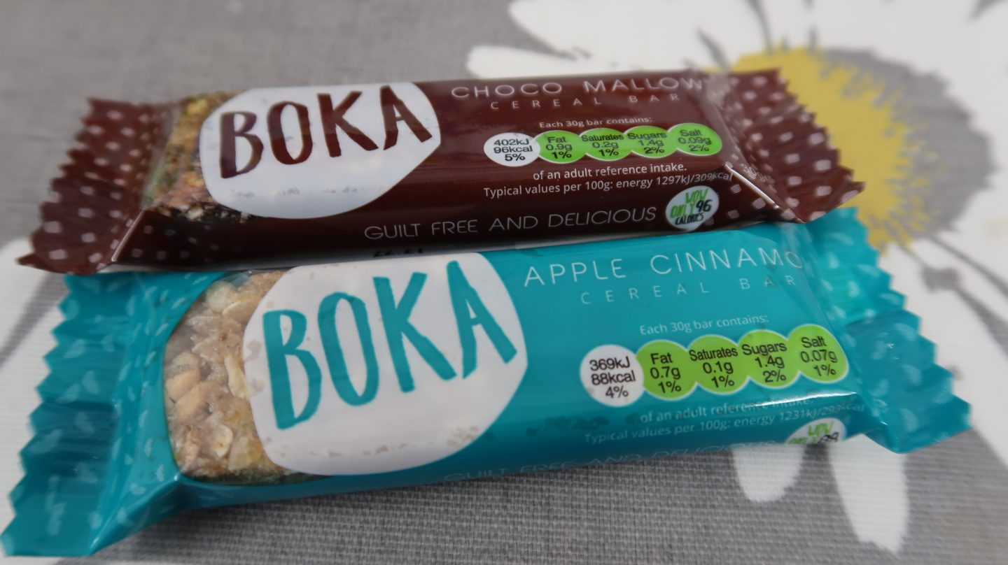 Boka Food cereal bars