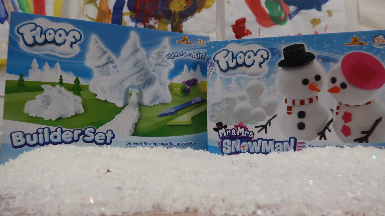 Floof Builder Set & Mr & Mrs Snowman {Review & Giveaway}