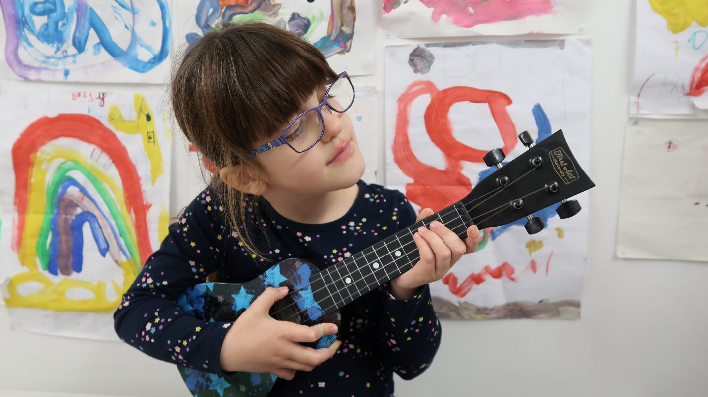 First Act Discovery Ukulele {Review & Giveaway}