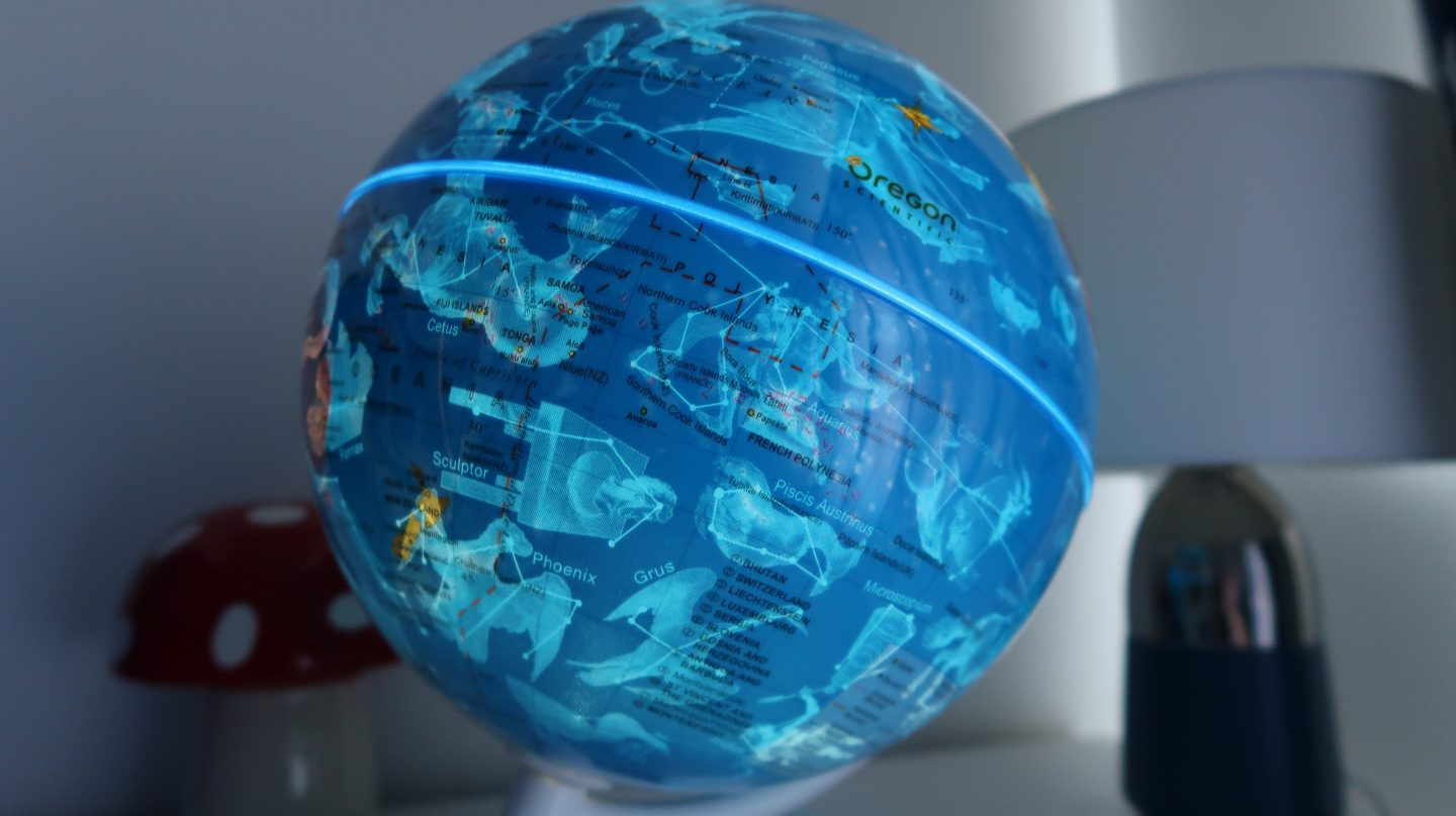 illuminated smart globe myth